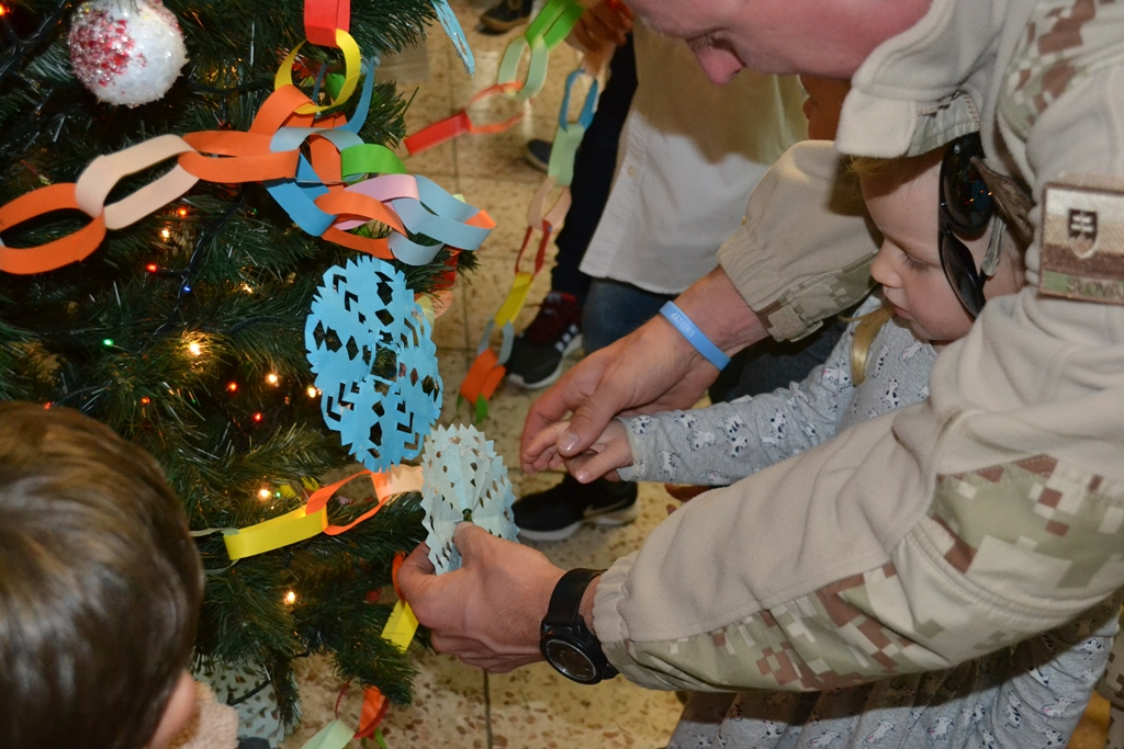 UNFICYP - Christmas visit of the Slovak UN Camp